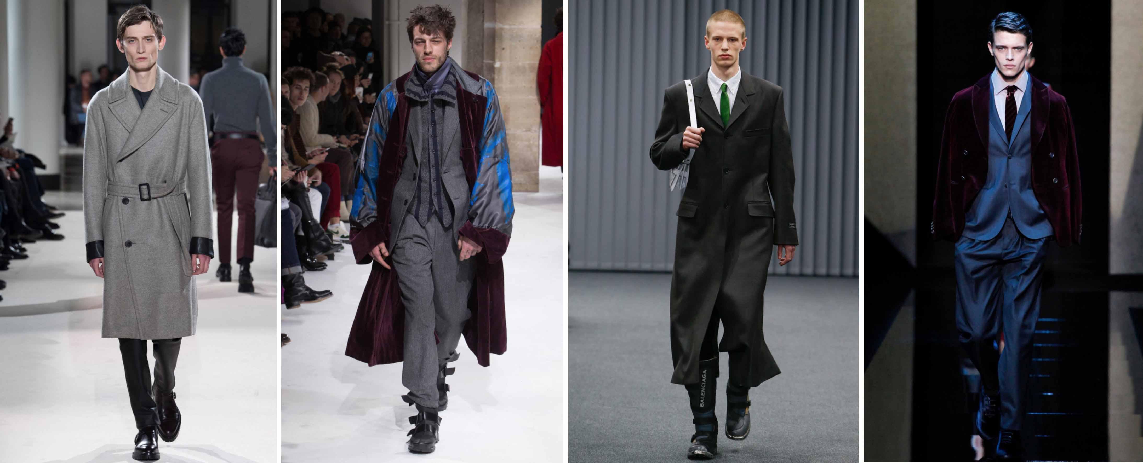 Мужская мода для зимы 2017-2018