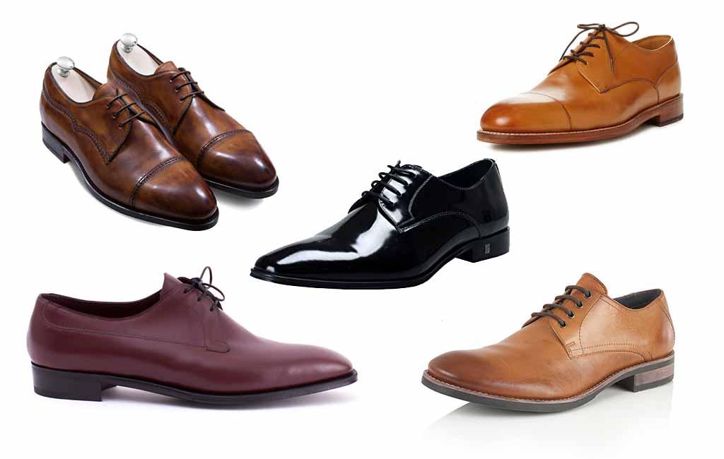 Туфли дерби мужские
