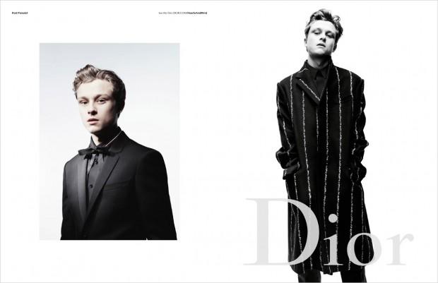 Рекламная кампания Dior Homme осень-зима 2016/17
